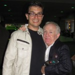 Leslie Jordan and Brian Castellani